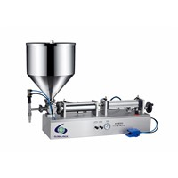 cheap semi automatic body face eye hand cream filling machines