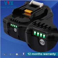 Japan lithium cell power tool battery for Makita 18V 4AH tools