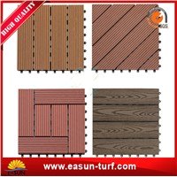 Hotsale Interlocking Wood Plastic Composite Tiles Importer