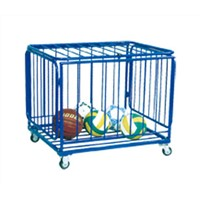 movable ball trolley,foldable ball cart for sale