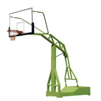outdoor portable flat type imitated hydraulic basketball stand