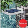 3W Solar Sensor LED Wall Lamp Panel Design
