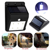 Triangle Solar Sensor LED Wall Lamp 2w