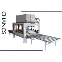 Conveyor Belt Type High Frequency Edge Glued Panel Press--CHANCS MACHINE
