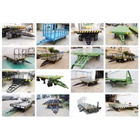 Detachable hydraulic Low Flatbed low bed Semi Trailer