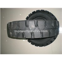6.50-10/650-10/6.50x10 Forklift Solid Tire, High Quality Solid Forklift Tyre