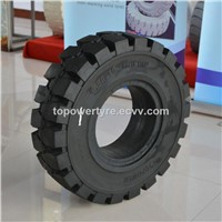 6.50-10 Solid Forklift Tyre Resilient Solid Tire Chinese Manufacturer