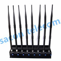 SA-008A-L Walkie-Talkie Blocker/Interphone Jammer/Cell Phone Jammer, Frequency Customized