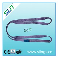 1t*5m polyester endless webbing sling safety factor 5:1