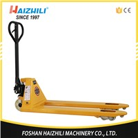685mm fork width hand hydraulic pallet truck 2.5 ton manual pallet trolley