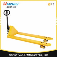 CE approved super long 1800mm 2 ton hydraulic hand pallet truck
