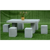 Cement Furniture Urban Rectangle Coffee Able & Stools
