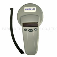 ISO11784/5 FDX-B ID64 RFID chip reader Animal ID Handheld scanner  for Pet Identification