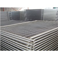 as 4687 Standard 2.4x2.1m Galvanized Temporary Fence with Plastic Feet & Clamp for Australia