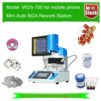 Excellent Auto Mobile phone BGA Rework Station WDS-700 With Optical Alignment System