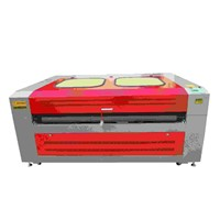 1600*1000mm Auto Roll Feeding Fabric Laser Engraving Cutting Machine with Double Laser Heads/HQ1610