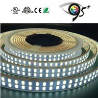 CRI>95 Double Row DC24V/12V 240leds/m 5630 LED Strip Light