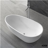 KKR high quality freestanding acrylic solid surface bathtub