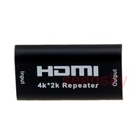 HDMI Repeater Amplifie Extenderr Over Signal HDTV 4K*2K Up to 40M 3D 1080p Female Switch Box Booster