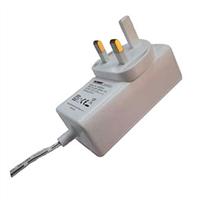12V/3A AC/DC Adapter, 0.1-3.0A, The UK Plug, Energy Star Level VI