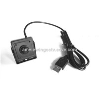 1.3MP HD Pinhole USB Camera USB Mini Camera, Plug & Play