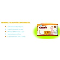 Chikool high quality baby diapers manufacture
