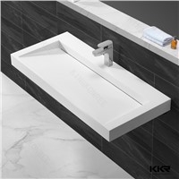 KKR artificial stone solid surface hand wash basin