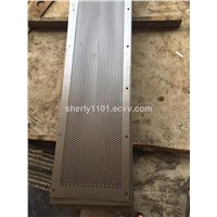 Stainless/Alumiinum/Mild Steel perforated metal