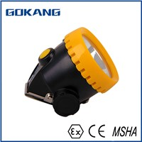 KL1.2Ex Atex Certified LED Cordless Mining Light, GOKANG Emergency Rechargeable LED Lamp & Mining Cap Lamp