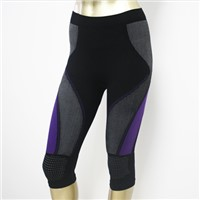 Seamless women's sporting tights pants sportswear for body shaper