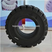 6.50-10 Solid Forklift Tire with Optimal Grip and Traction