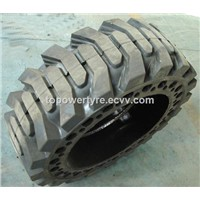 Solid Skid Steer Loader Tyre 10*16.5 12*16.5