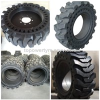31x6x11 Mould on Solid Wheels Cushion Tyre
