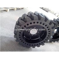 China Solid Tyre Manufacturer 445/55D 19.5 Foam Filled Tyre