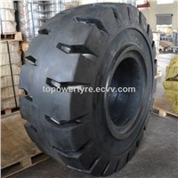 Construction Solid Tire,Earthmover Solid Tire, Solid Resilient Tyre 17.5/20.5/23.5/26.5-25
