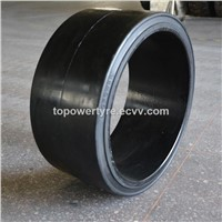 Solid Press on Tires 20x9x16 with High Stability