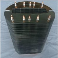 Copper Heat Sink with 10PCS Heat Pipe