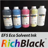 RichBlack EF5 Eco Solvent Ink for DX5 DX7