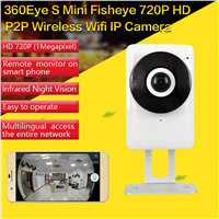EC1 720P Mini Wireless WIFI P2P IP Night Vision CCTV Surveillance DVR Camera Android/iOS App Control