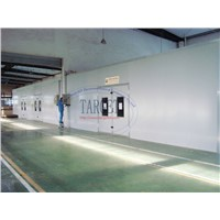 Dry Spray Paint Booths / China Paint Booth