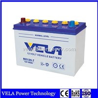 Best Price NX120-7 12V 80AH Dry Charge Lead Acid Car Battery