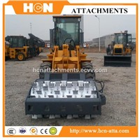 Skid Steer Loader Attachments Of Vibratory Ice Breaker