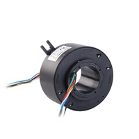 6 Ccircuits Through Bore Slip Ring For Welding Equipment
