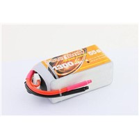 15.2V High Voltage 1300mAh 4s 55c small size Lipo battery for FPV burst flying