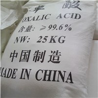 industrial grade oxalic acid 99.6% min
