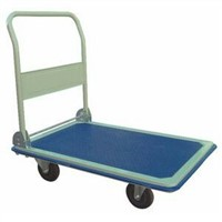 Non-motorized Stainless steel structure four wheels foldable trolley