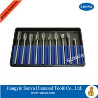 SUNVA Carbide Burs/Tungsten Carbide Burr