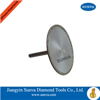 SUNVA Diamond Coated Mounted Blades/Cutting Blades
