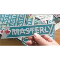 Aluminum Printing Company Logo, Color Nameplate Company Logo with 3M Sticker