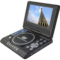7inch Mini DVD Player with TV
